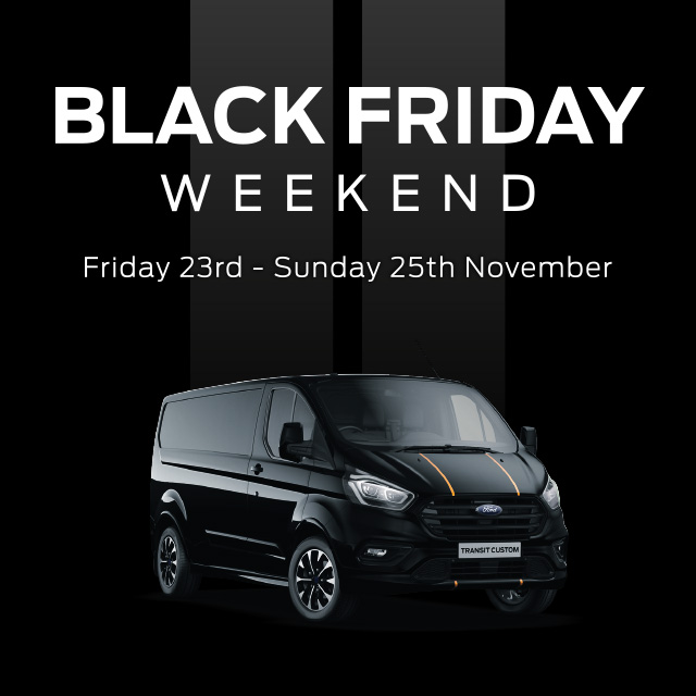 Ford Black Friday Event New Ford Vans