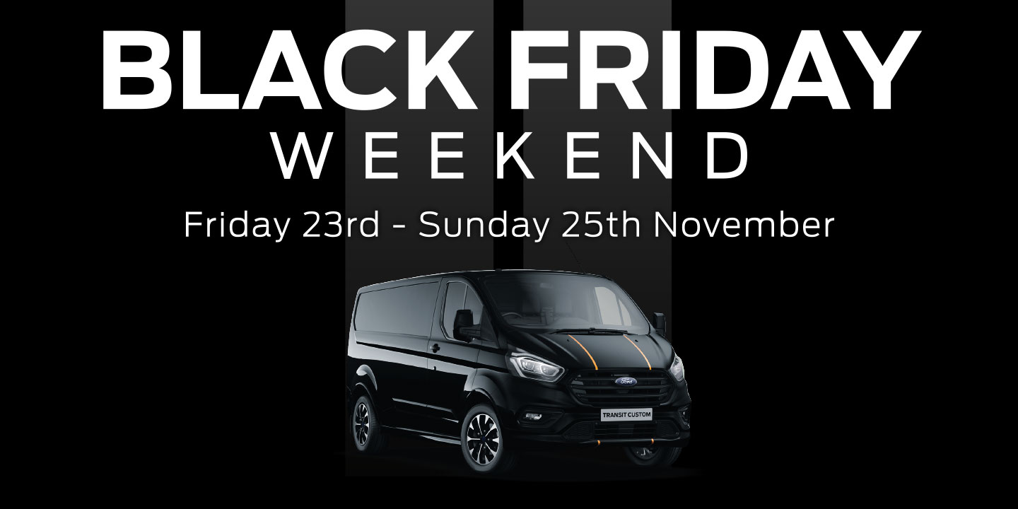 Ford Black Friday Event New Vans