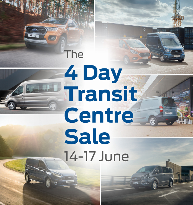4 day new ford van sale