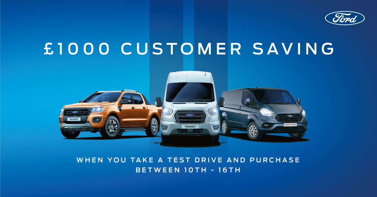 Ford Van Test Drive Event - Doncaster