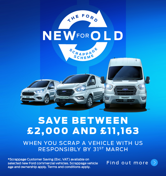 Ford Scrappage Scheme Commercial Vehicles