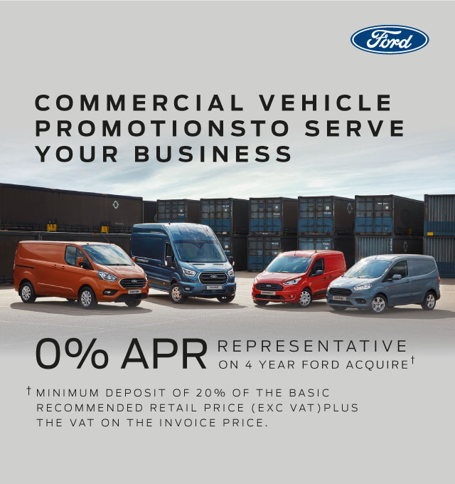 0 percent van finance deals