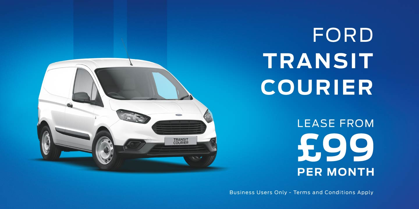 Ford Transit Courier Leasing Deal