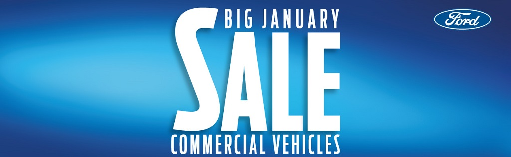January Ford Van Sale - 2020