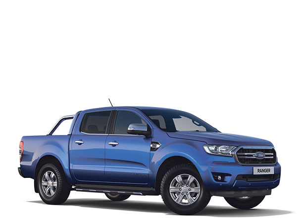 New Ford Ranger Limited Double Cab 2019 Blue Lightning F