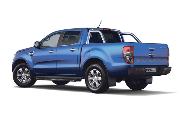 New Ford Ranger Limited Double Cab 2019 Blue Lightning R