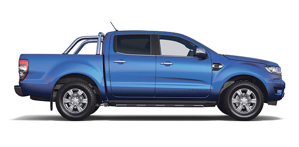 New Ford Ranger Limited Double Cab 2019 Blue Lightning S