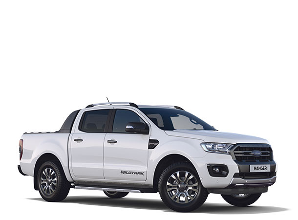 New Ford Ranger Wildtrak Double Cab 2019 Frozen White F