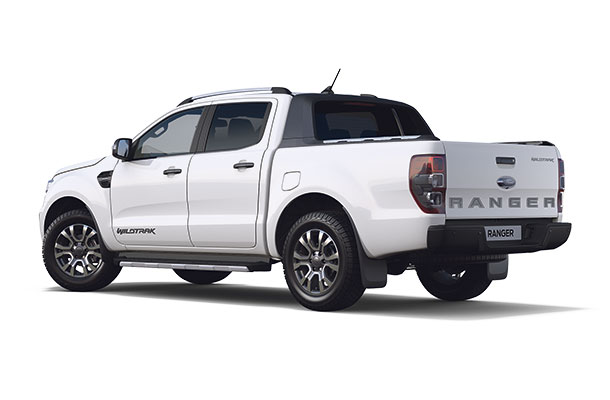 New Ford Ranger Wildtrak Double Cab 2019 Frozen White r