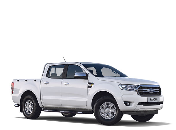 New Ford Ranger XLT Double Cab 2019 Frozen White F