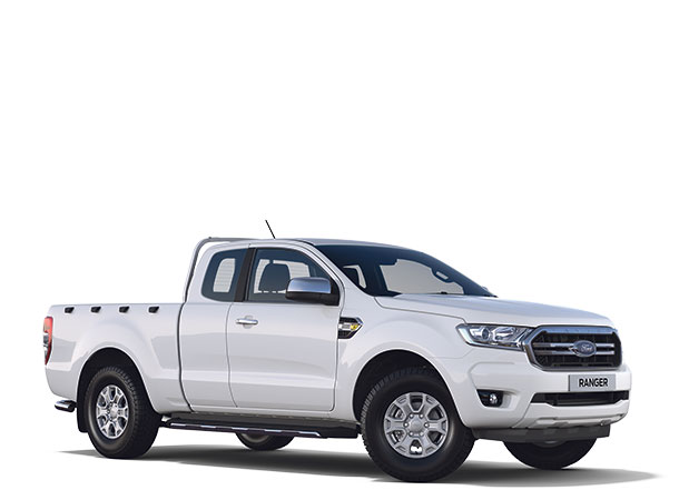 New Ford Ranger XLT Super Cab 2019 White F