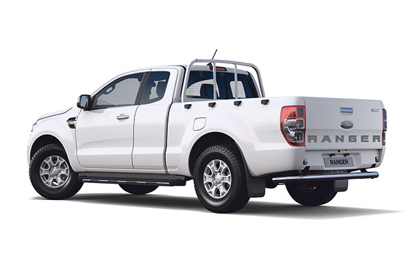 New Ford Ranger XLT Super Cab 2019 White r