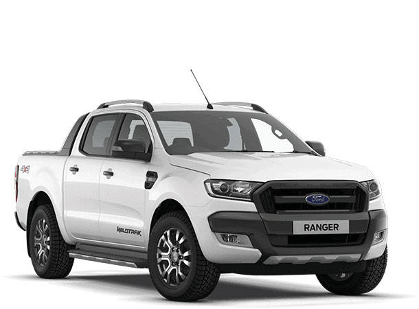 Ranger Wildtrak Frozen White Front