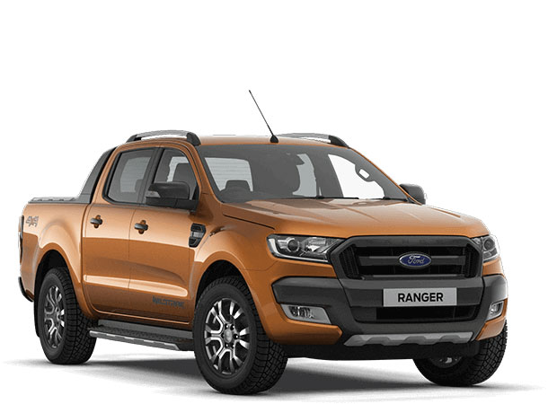 Ranger Wildtrak Pride Orange