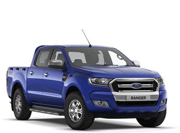 Ranger XLT Double Cab Performance Blue Front