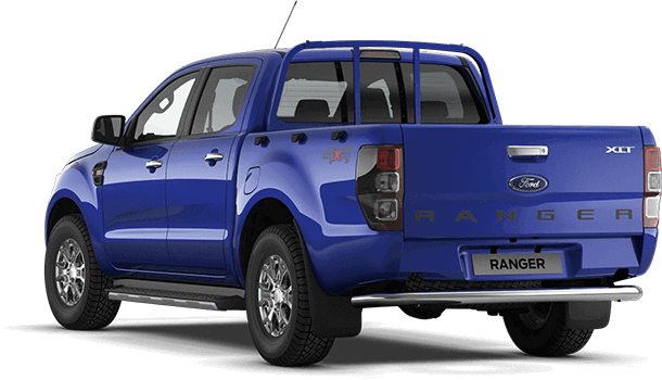 Ranger XLT Double Cab Performance Blue Rear