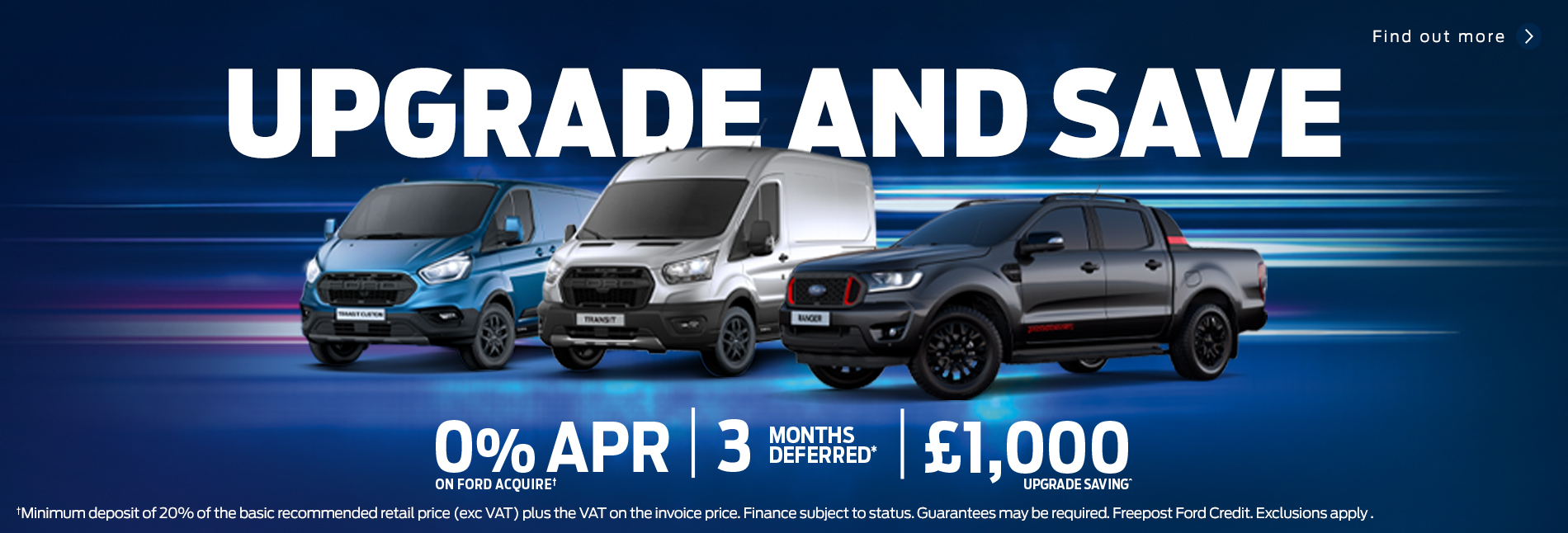 Upgrade and Save Ford Commercial Vehicles