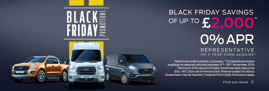 Black Friday Van Deals