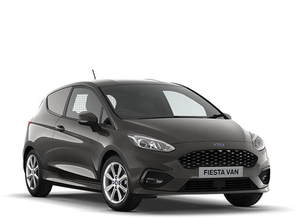 New Ford Fiesta Sport Van Magnetic Front