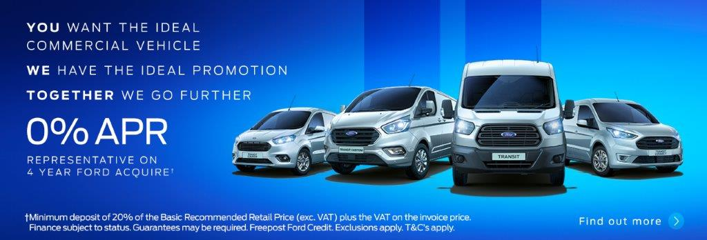Ford Van 0 Percent Finance