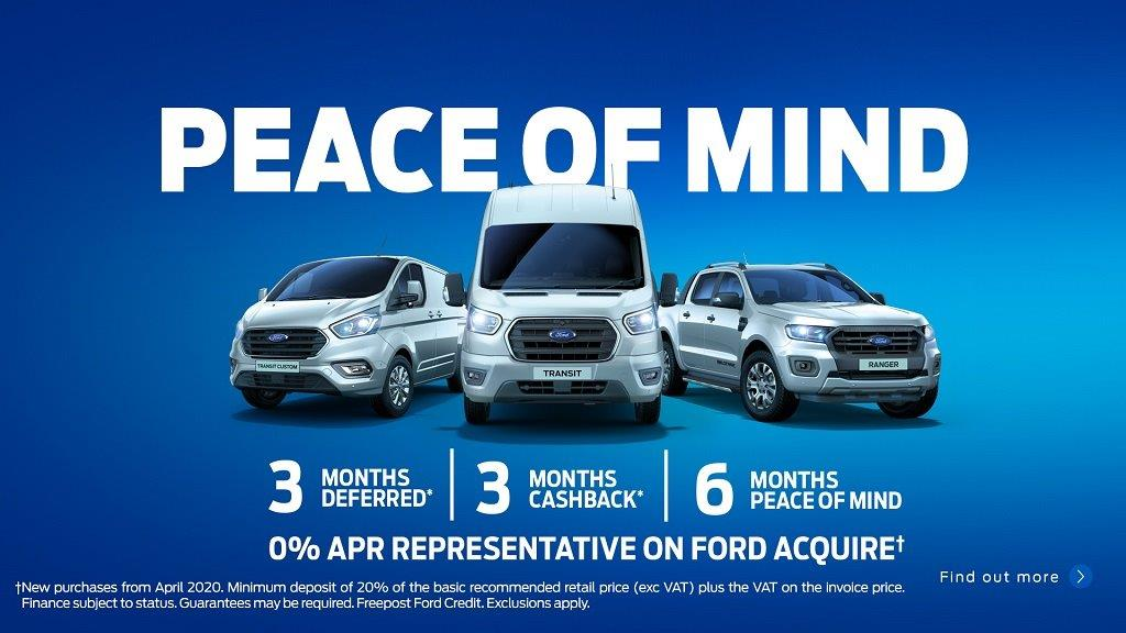 Ford Peace of Mind Commercial Vehicles