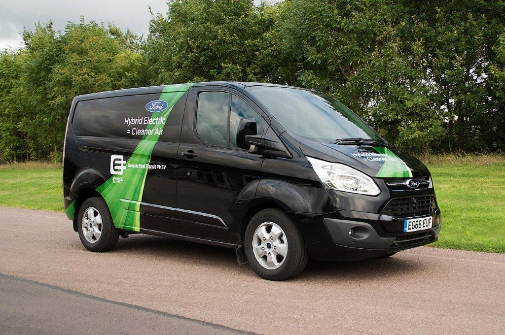 Ford Transit Custom Phev Vans Planned For 2019 Commercial Production