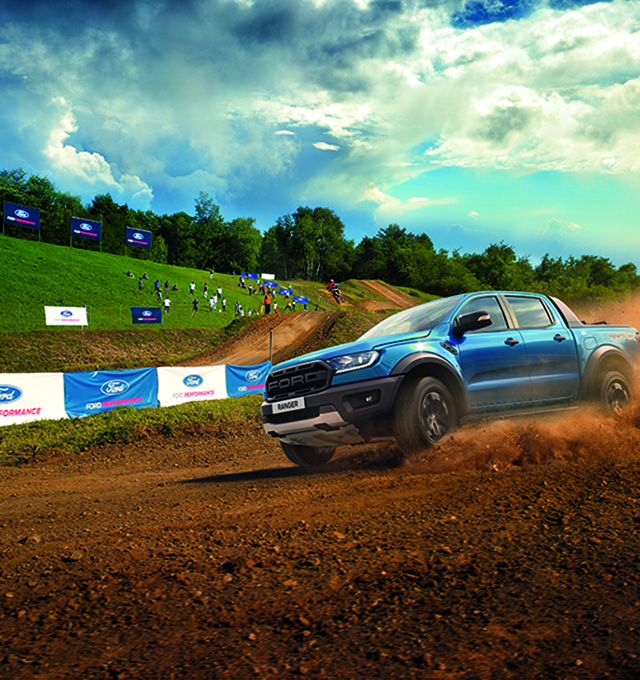 New Ford Ranger Raptor Off Road