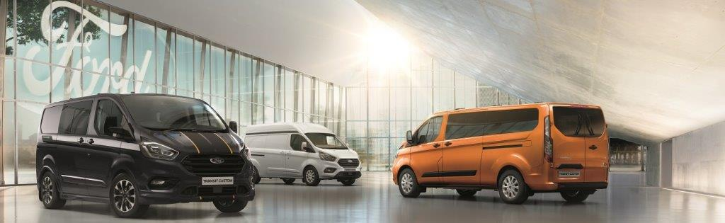 New Ford Transit Custom Range
