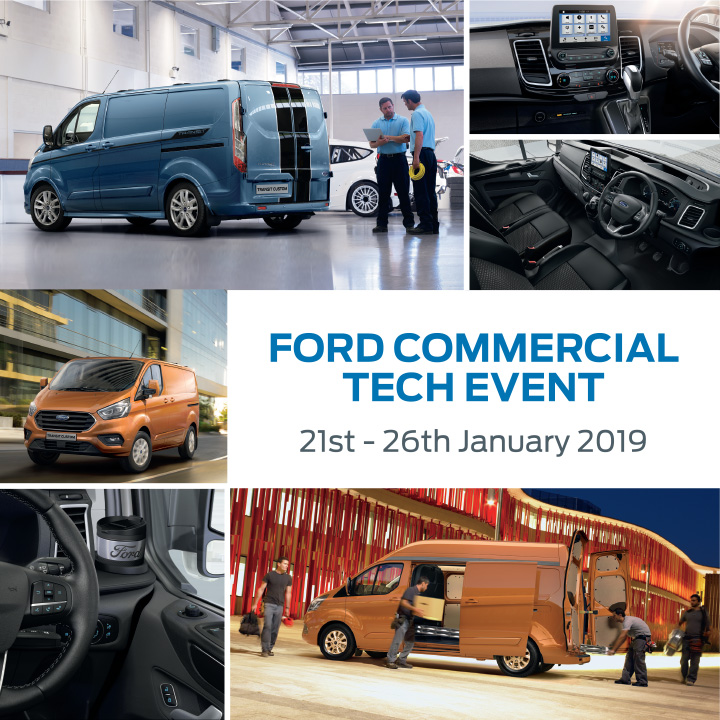 New Ford Van Technology Event