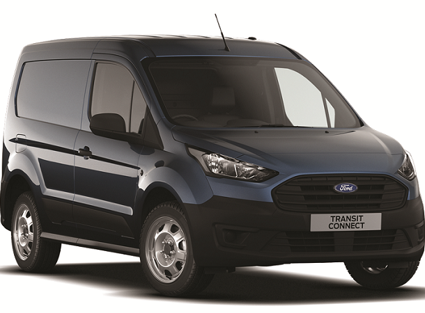 New Ford Transit Connect Base - Metallic Blue Front