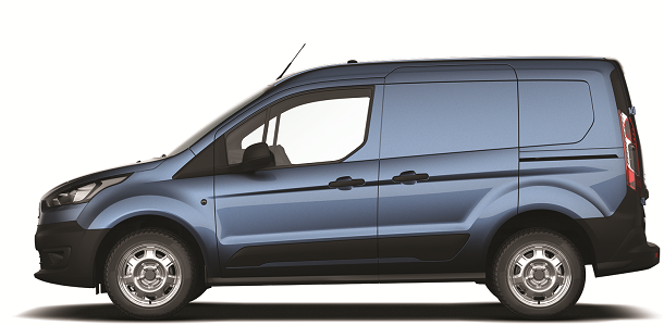 New Ford Transit Connect Base - Metallic Blue Side