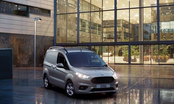 New Ford Transit Courier Launch 2018