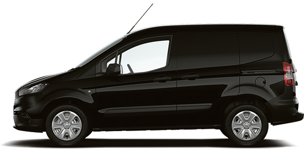 New Ford Transit Courier Trend Van Shadow Black SIde