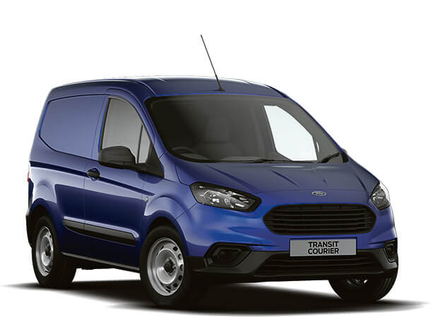 New Ford Transit Courier Base Van Deep Impact Blue Front