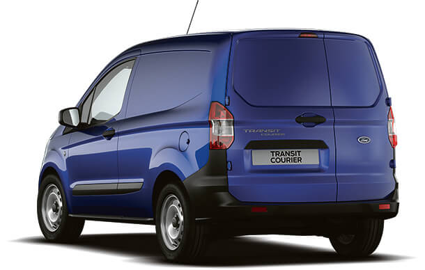 New Ford Transit Courier Base Van Deep Impact Blue Rear