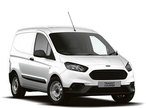 New Ford Transit Courier Base Van Frozen White Front