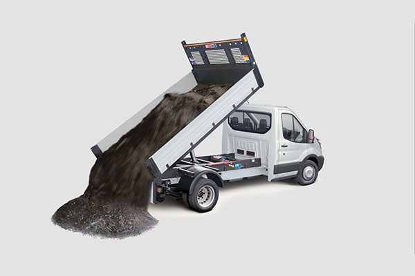 Ford Transit One-Stop Shop 1-Way Tipper