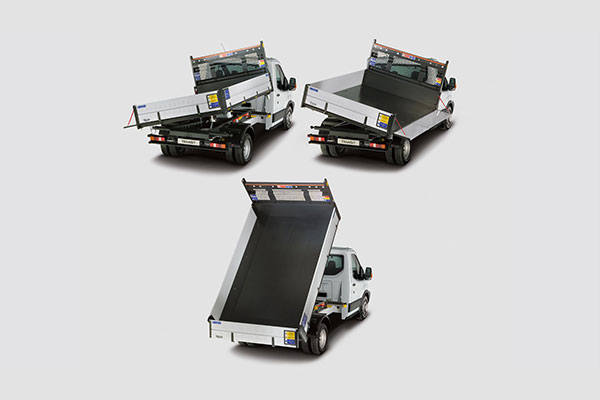 Ford Transit One-Stop Shop 3-Way Tipper