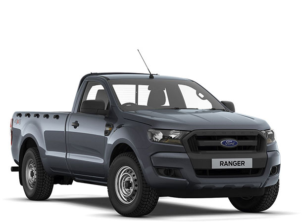 Ranger XL Regular Cab Sea Grey Front